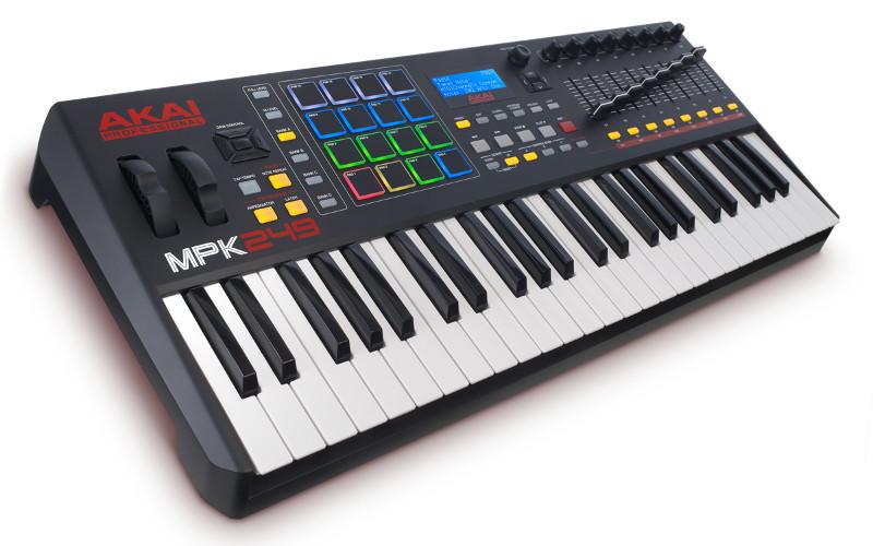 AKAI Professional MPK 249 - Kontroler + kurs domowe studio nagrań 18267