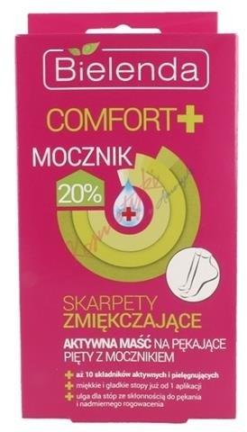 Bielenda Comfort+ Skarpety aktywna maść na pękające pięty z mocznikiem 1szt 46260-uniw