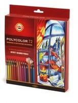 Koh-I-Noor Kredki artystyczne Polycolor 72 kolory