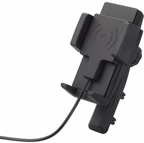 HR imotion Universal Fast Wireless Charging 5 W, 7,5 W, 10 W rozwiązanie do mocowania smartfonów o szerokości od 57 mm do 86 mm [zaprojektowane w Niemczech I w zestawie wysokiej jakości ładowarka, moż