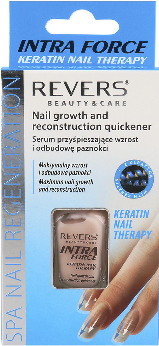 Revers Revers Intra Force Keratin Nail Therapy Serum Przyśpieszające Wzrost I Odbudowę Paznokci 10ml