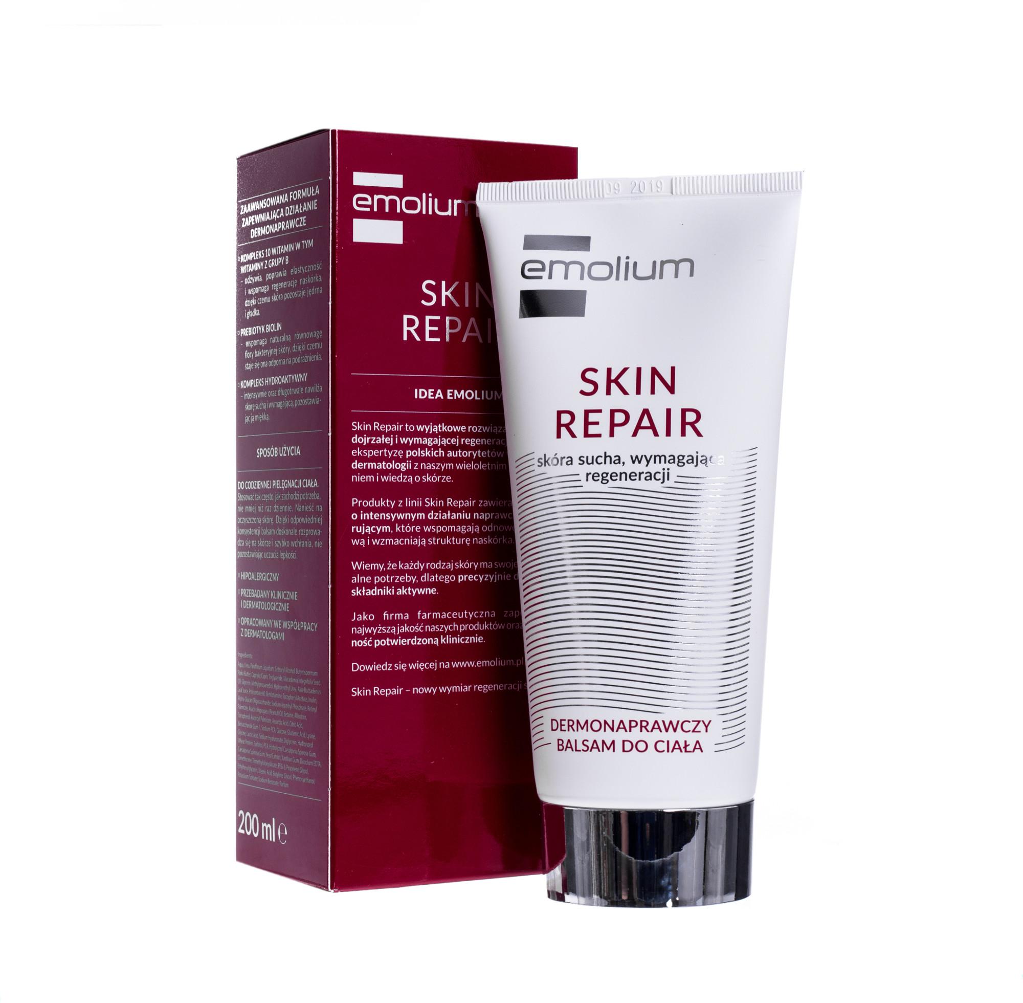 Nepentes Emolium Skin Repair dermonaprawczy balsam do ciała 200 ml | DARMOWA DOSTAWA OD 149 PLN!