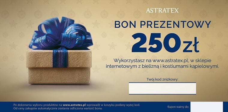 Astratex Bon prezentowy 250 zł