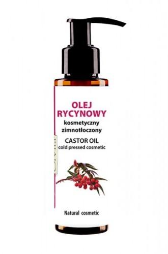 Olvita Olej rycynowy kosmetyczny zimnotłoczony 100 ml 1030-001