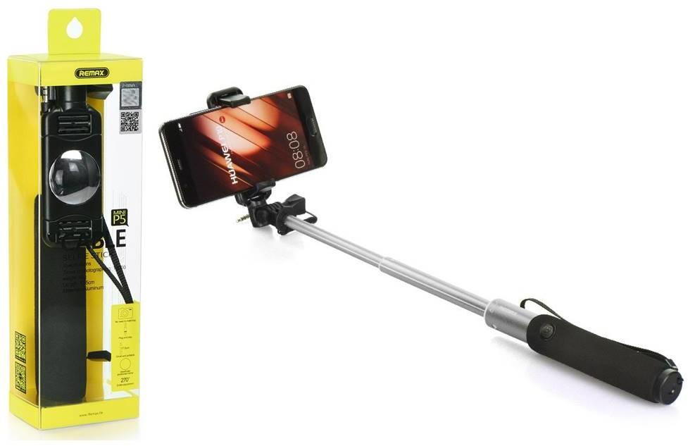 Remax Uchwyt Selfie Stick Kijek - Telfon Smartfon