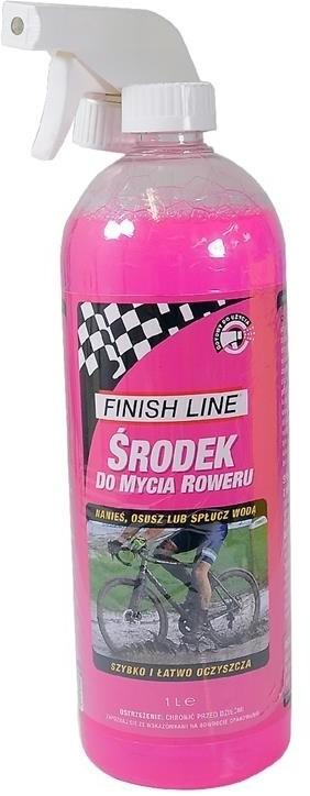 FINISH LINE Środek Bike Wash do czyszczenia rowerów, 1000 ml + atomizer 036121620001