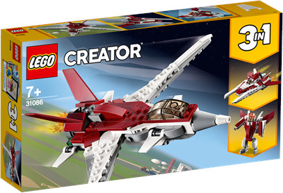 LEGO Creator Futurystyczny samolot 31086