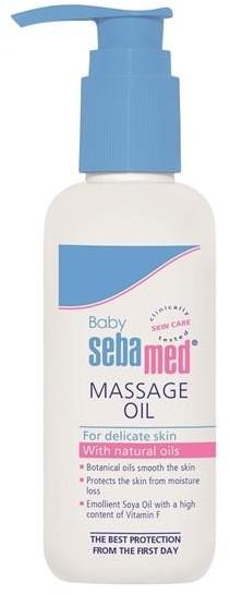 Sebamed Baby Soothing Massage Oil kojący olejek do masażu dla dzieci 150ml