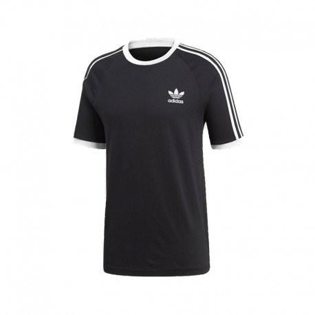 Adidas męski 3-Stripes T-Shirt, czarny, s CW1202