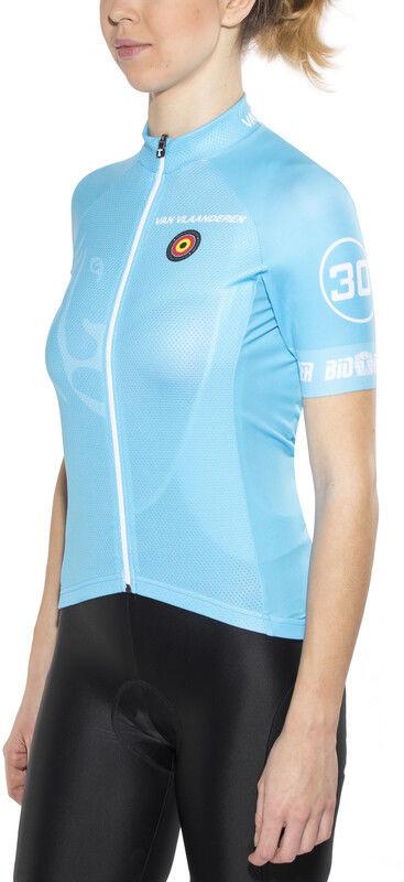 Pro Bioracer Bioracer Van Vlaanderen Race Koszulka rowerowa z zamkiem błyskawicznym Kobiety, blue L 2020 Koszulki kolarskie CO_IS51340D-18-000956 -L