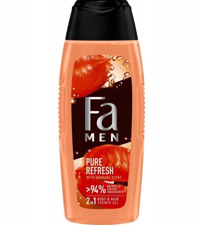 Fa Men Shower Gel Refresh Pure Guarana 400ml żel pod prysznic