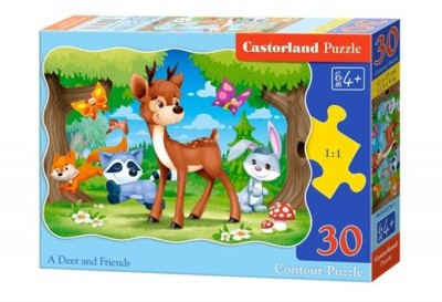 Castorland 30 ELEMENTÓW Jelonek i przyjaciele 03570