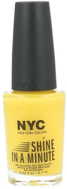 NYC Shine In A Minute Lakier Do Paznokci 600 NY Taxi