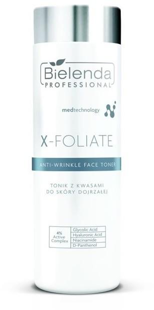 Bielenda Professional Professional X-FOLIATE Tonik kwasowy do skóry dojrzałej 200ml