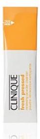 Clinique Fresh Pressed Renewing Powder Cleanser With Pure Vitamin C rozpuszczalny proszek do oczyszczania twarzy saszetka 0.5g