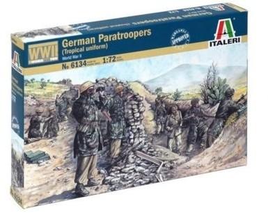 Italeri Niemieccy spadochroniarze, mundury tropikalne (II WŚ) 6134