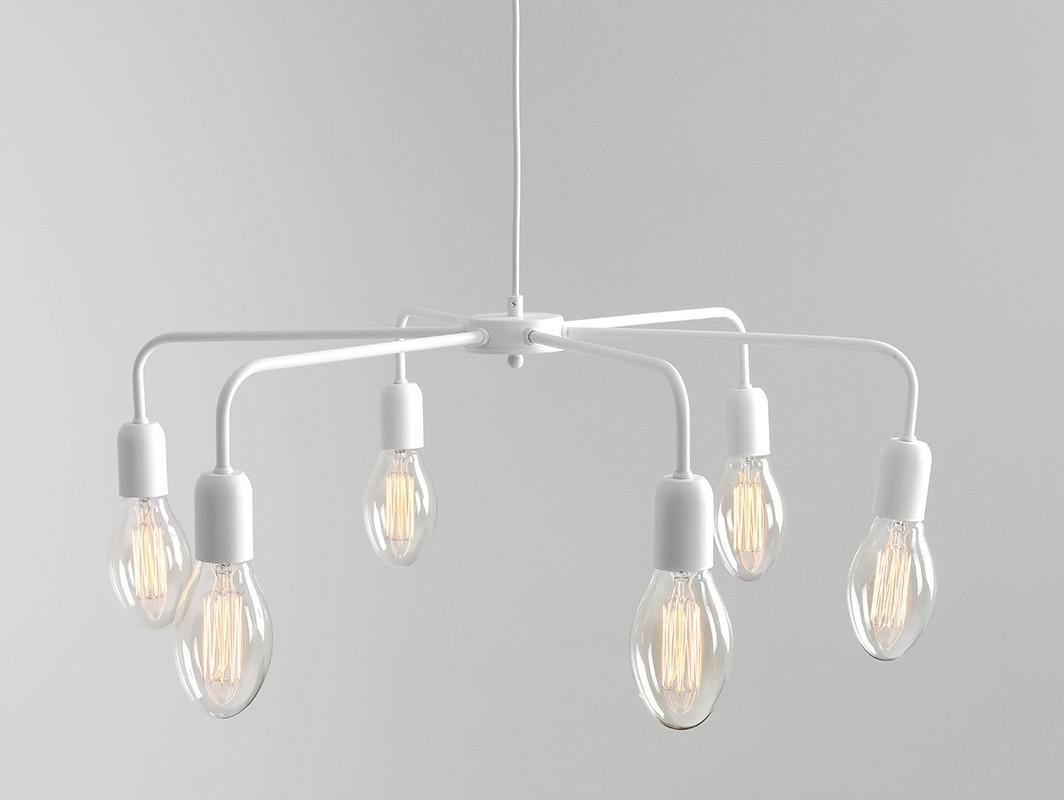 Customform Lampa wisząca CROSER 6 - biały LP011CROSW6-01