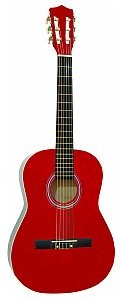 Dimavery AC-303 classical guitar 1/2, red, gitara klasyczna 26242053