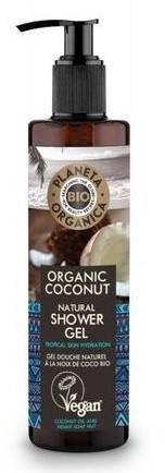 Planeta Organica BIO żel pod prysznic Coconut Oil 280ml 52493-uniw