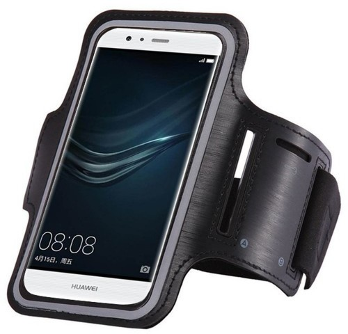Hurtel Armband do biegania opaska na ramię na telefon smartfon 6 cali czarny 7426825349774