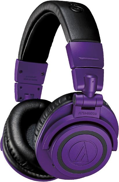 Audio-Technica ATH-M50xBT Fioletowe