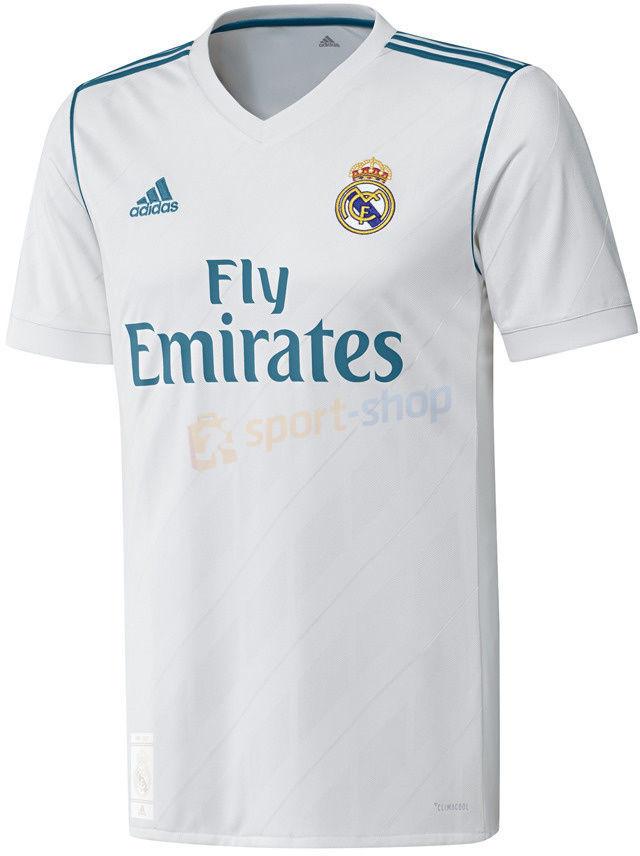 Adidas Koszulka meczowa Real Madryt Home 2017/2018 biała) 12h AZ8059
