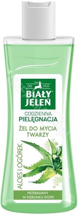 Pollena Codzienna Pielęgnacja żel do mycia twarzy Aloes i Ogórek 265ml