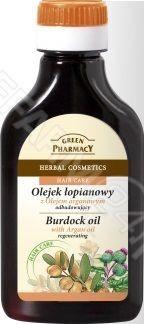 Green Pharmacy Olejek łopianowy, Olej arganowy 100ml