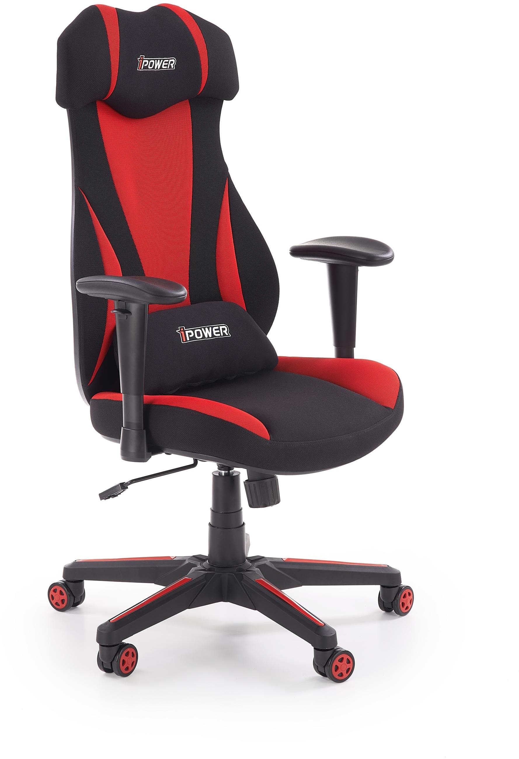 Halmar Fotel dla gracza gamingowy HALMAR ABART czerwony/czarny ZŁAP RABAT KOD50