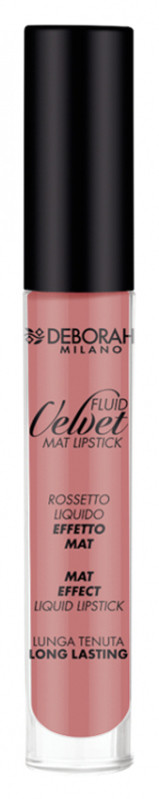 Deborah MILANO MILANO - FLUID VELVET MAT LIPSTICK - Matowa pomadka do ust w płynie - 08 DEBVLPUPL-WPL-07