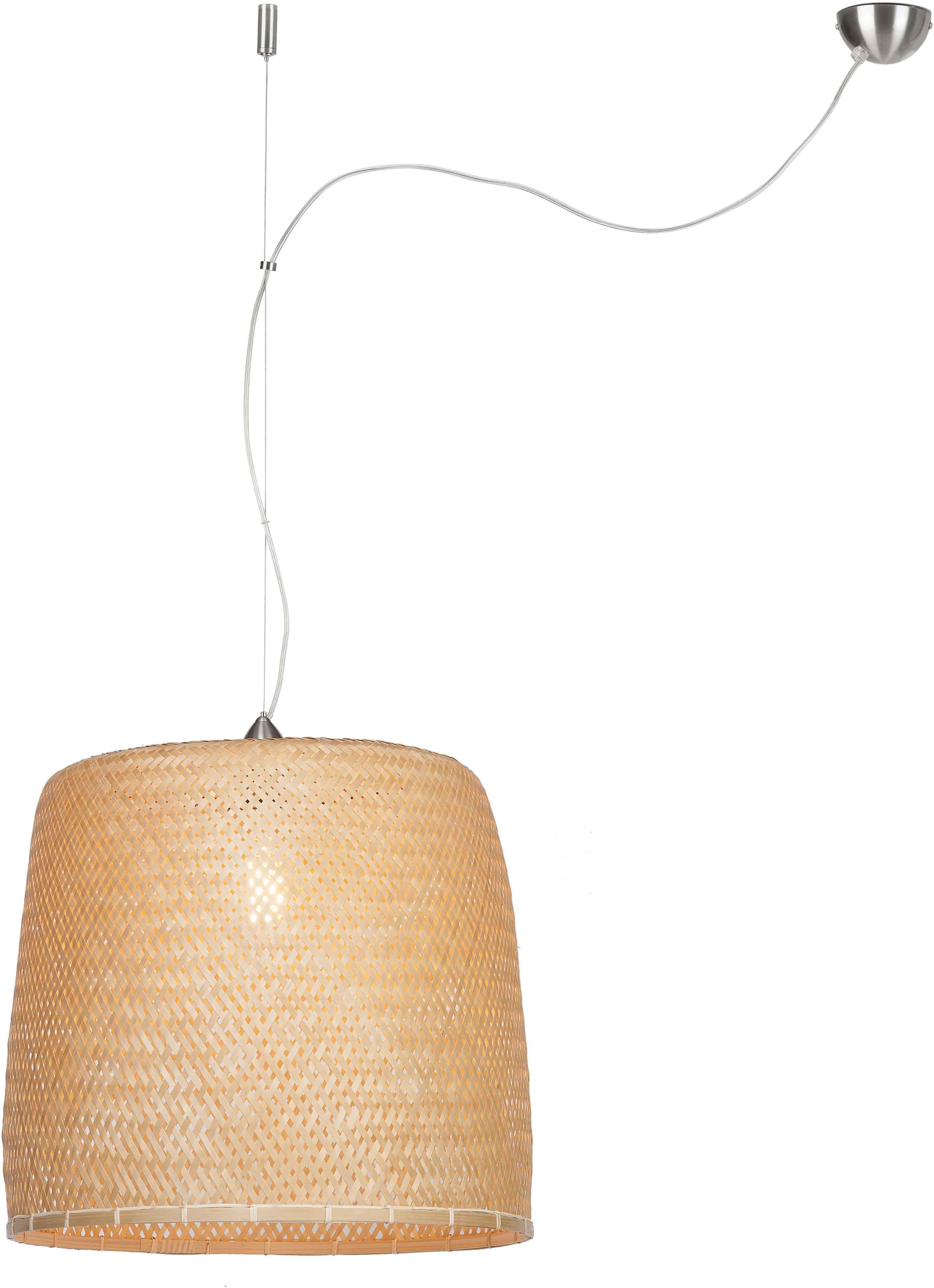 It's About RoMi It's About RoMi Lampa wisząca Serengeti bambusowa, pojedynczy abażur SERENGETI/H1/N SERENGETI/H1/N