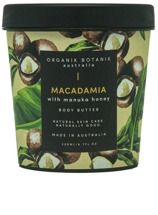 Macadamia Organik Botanik Organik Botanik i Miód Manuka - masło do ciała 100ml