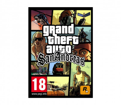 Grand Theft Auto San Andreas STEAM cd-key
