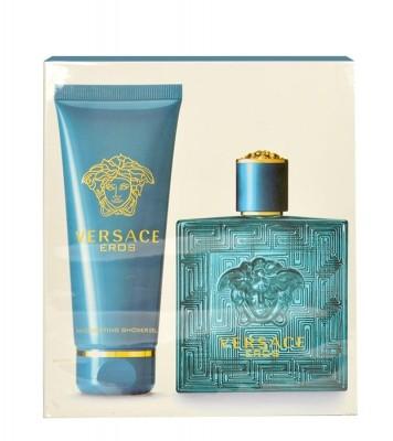 Versace Versace Eros zestaw Woda toaletowa 100ml + żel pod prysznic 100 ml dla mężczyzn 44448