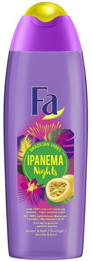Fa Brazilian Vibes Ipanema Nights Shower Gel żel pod prysznic Maracuja Night Jasmine Scent 750ml