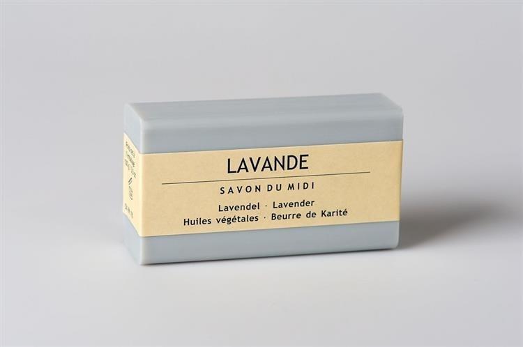 SAVON DU MIDI Mydło z masłem shea LAVANDE (Lawenda) 102 110550