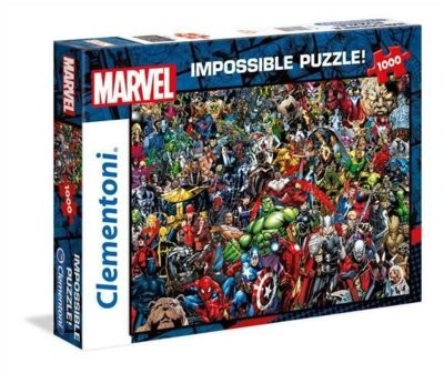 Marvel 1000 elementów Impossible!