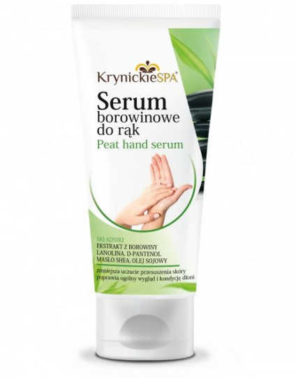 KrynickieSPA Serum borowinowe do rąk - 100ml 04820