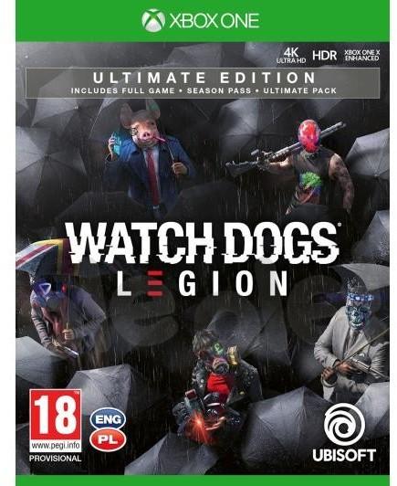Watch Dogs Legion Edycja Ultimate (GRA XBOX ONE)