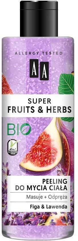Oceanic Super Fruits & Herbs peeling do mycia ciała Figa i Lawenda 200ml 89660-uniw