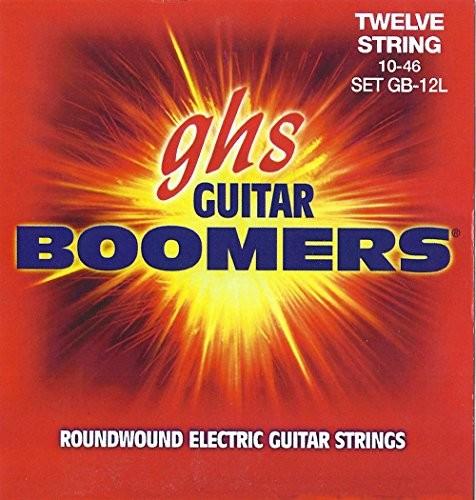 GHS Zestaw strun do gitary elektrycznej BOOMERS - 12 strun - GB-12L - Light - 010/046 CGH GB-12L