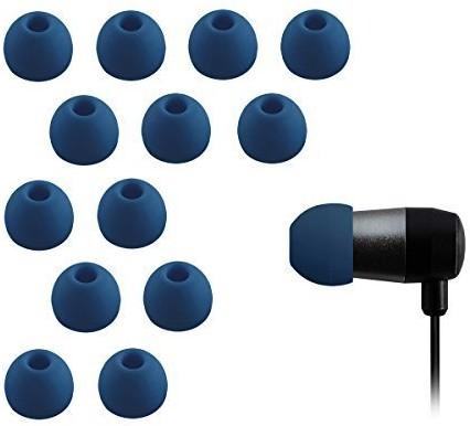 Xcessor Triple Flange zatyczki do uszu z wysokiej jakości silikonu, kompatybilne z większością słuchawek dousznych, 4 pary średni CG35661