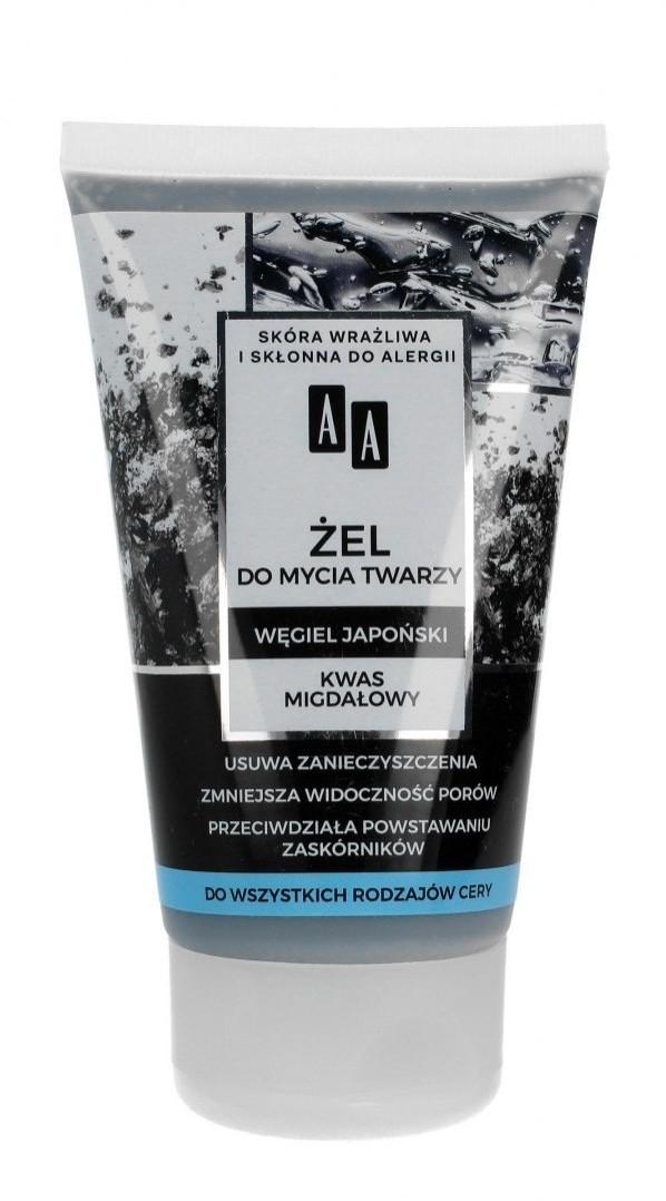 Oceanic AA Carbon & Clay Żel do mycia twarzy z węglem japońskim - każdy rodzaj cery 150ml
