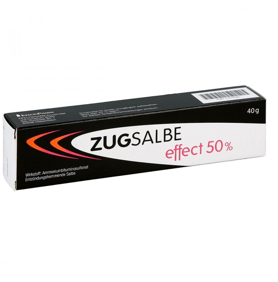INFECTOPHARM Arzn.u.Consilium Zugsalbe effect 50% Salbe 40 g