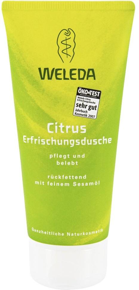 Weleda AG żel pod prysznic z olejkiem cytrynowym 200 ml