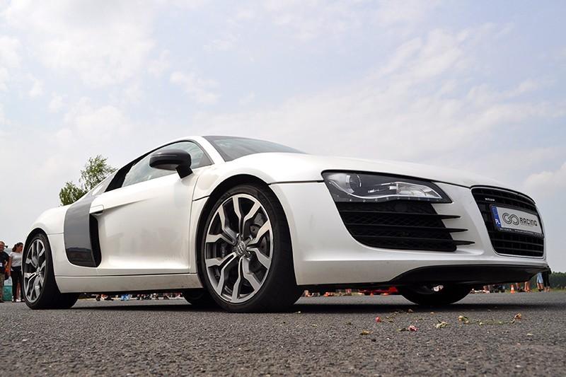 go racing Jazda Audi R8 : Ilość okrążeń - 6, Tor - Tor Olsztyn, Usiądziesz jako - Kierowca