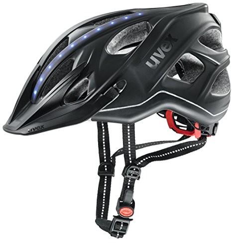 UVEX City Light Trekking kask rowerowy czarny 2018, 56-61cm 4107520217