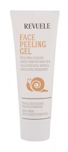 Revuele Revuele Face Peeling Gel Snail Filtrate żel oczyszczający 80 ml dla kobiet