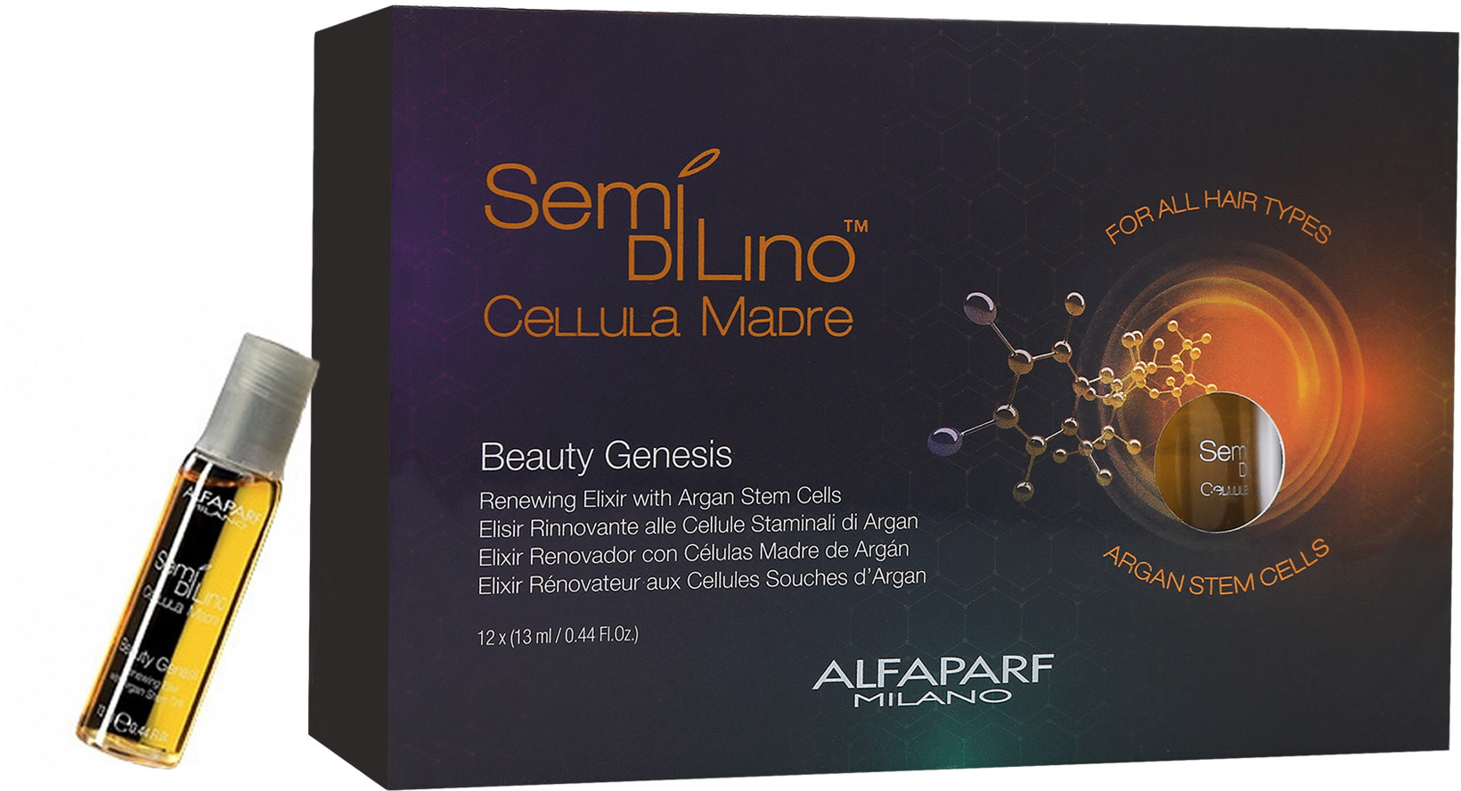 Alfaparf SEMI DI LINO Cellula Madre Beauty Genesis Ampułki 12x13ml 0000061342