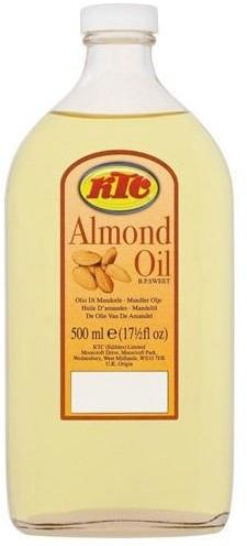 KTC Almond Oil Uniwersalny olejek migdałowy do pielęgnacji 500 ml 1234572714